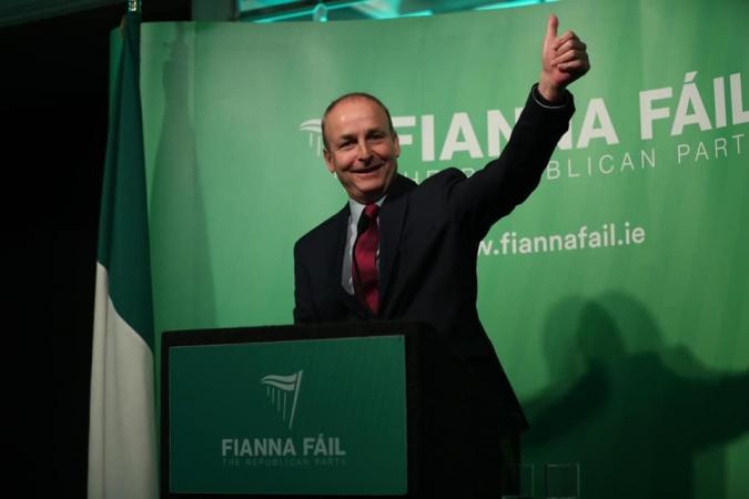 Micheál Martin, Taoiseach després d'un acord històric