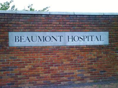 Prohibit anar al Beaumont Hospital