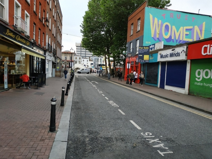 L'ajuntament vol un Liffey Street només per a vianants