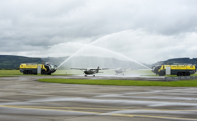 La Força Aèria jubila cinc avions de quaranta-set anys