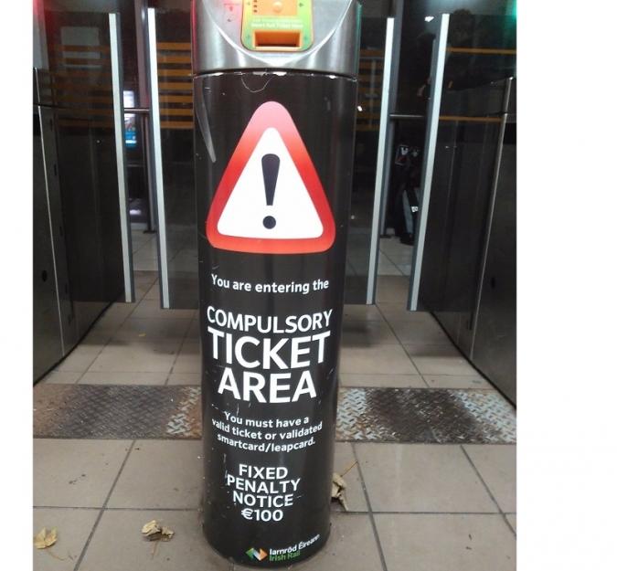 Picaresca i viatges de franc entre els usuaris d'Irish Rail