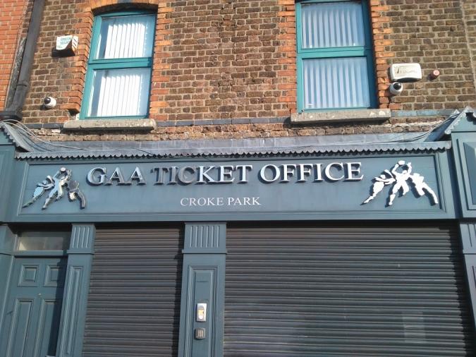 Histèria col·lectiva per les entrades del Mayo - Dublin