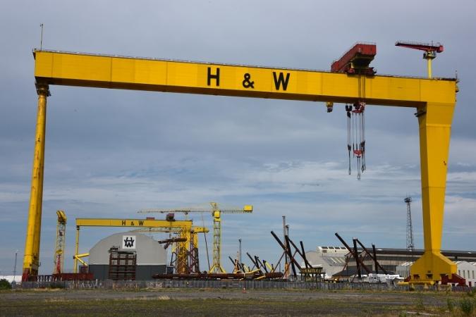 Les drassanes Harland & Wolff de Belfast, salvades