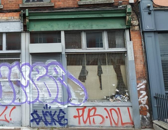 "Historic Tom Clarke ""as gaeilge"" shopfront to be restored"