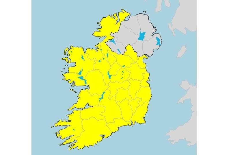 El mapa d'alertes sense els sis comtats encén la xarxa