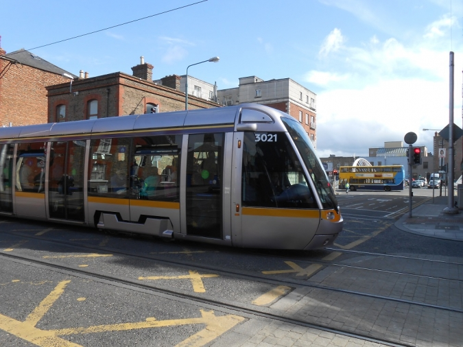 Seconds could change your life: a message from Luas