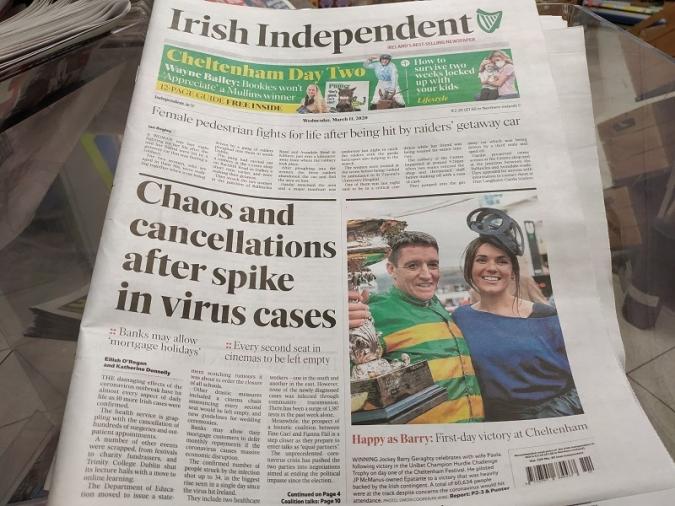 Irlanda comença a abaixar la persiana pel coronavirus