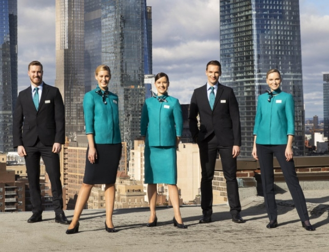 Aer Lingus unveils new-look Irish designed uniform