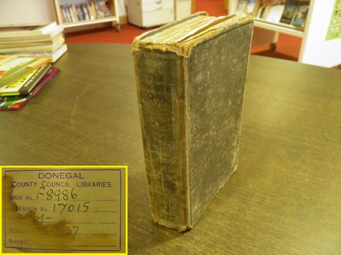 Retornen un llibre prestat a Donegal ara fa 82 anys
