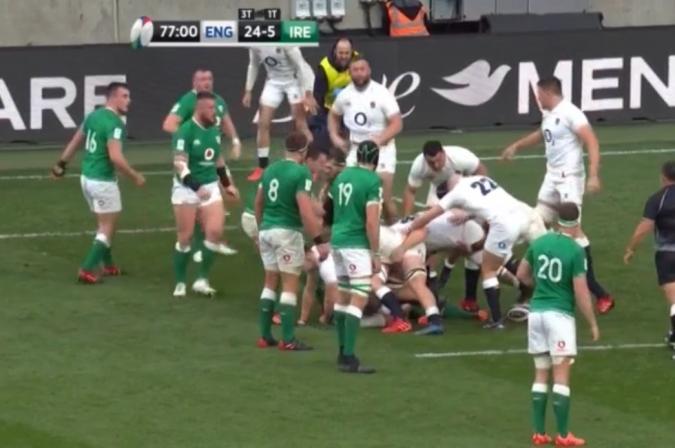 Anglaterra aprofita les errades d'una fluixa Irlanda