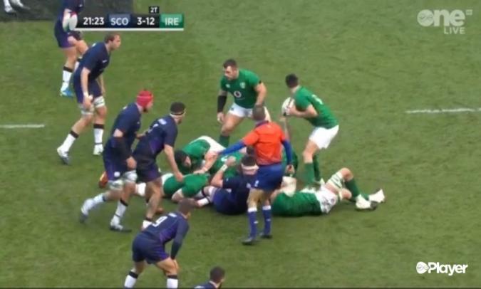 Victòria crucial d'Irlanda en un sempre dur Murrayfield
