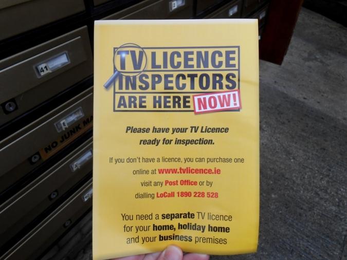 Recordar que s'ha de pagar la TV Licence en costa 7.425