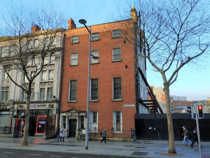 Preocupació pel darrer bastió georgià d'O'Connell Street