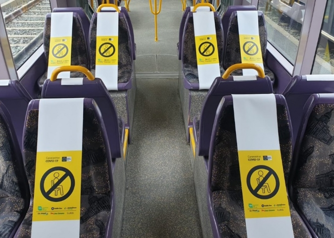 Qui viatgi en transport públic haurà de dur mascareta