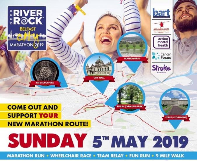 La marató de Belfast, més que una marató, literalment
