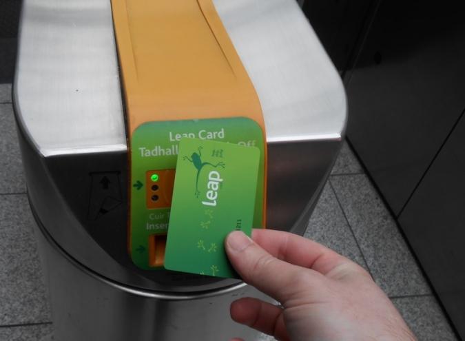 La recàrrega de la Leap Card ja es pot fer des de l'iPhone