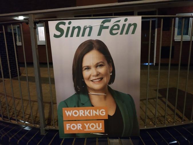 Victòria històrica del Sinn Féin amb un 24,5% dels vots