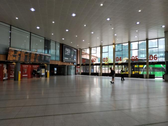 Pla de remodelació de Bus Éireann per a la vella Busáras