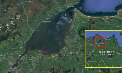 Torna la disputa territorial pel Lough Foyle