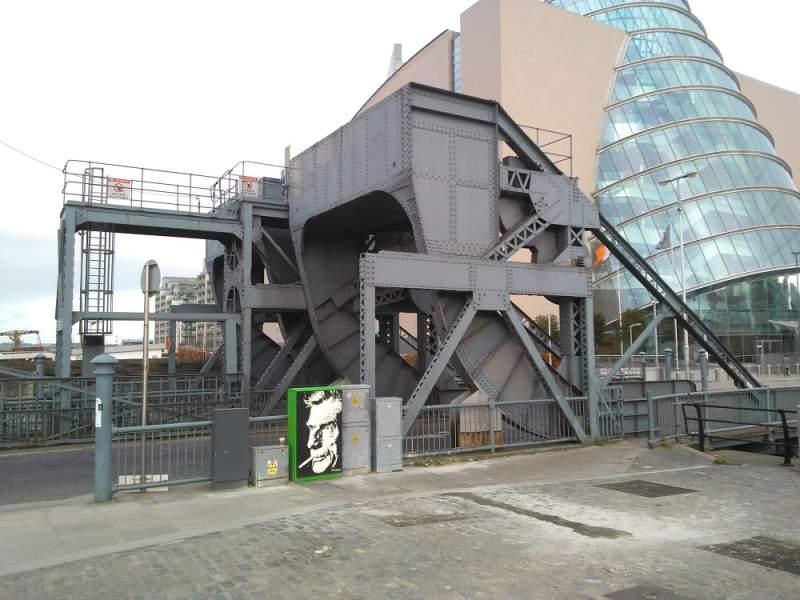 El pont Scherzer d'Spencer Dock tindrà companyia