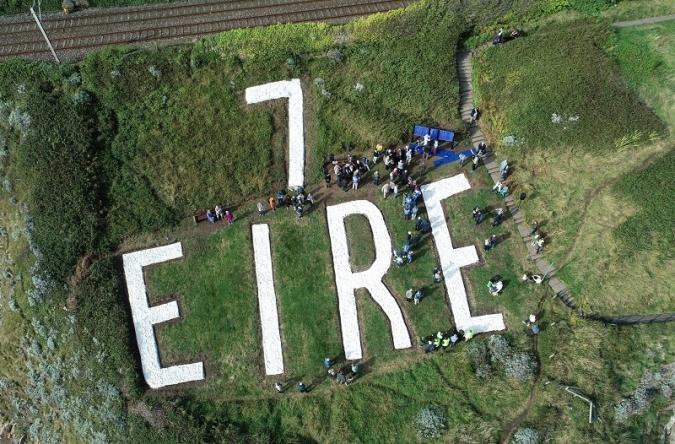 Restaurat un altre senyal Éire, el número 7, a Dalkey