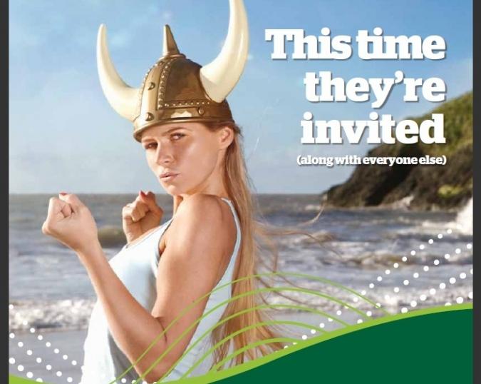 Els vikings no tenien invitació però foren de profit