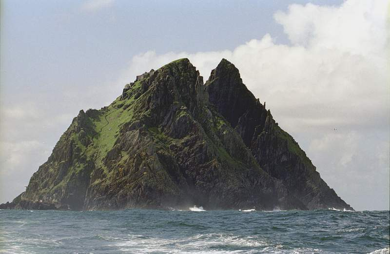 Darth Vader dispara les visites a Skellig Michael