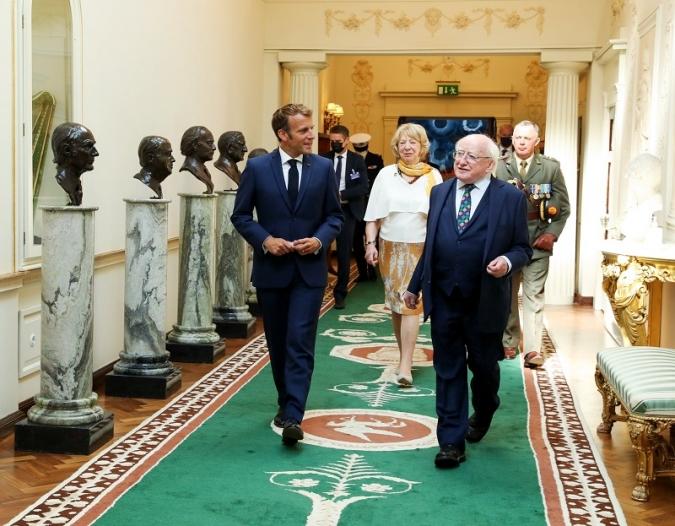 Visita de Macron: Som molt amics, però apugeu impostos