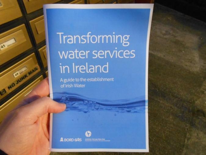 Primera reparació gratuïta a 600.000 clients d'Irish Water