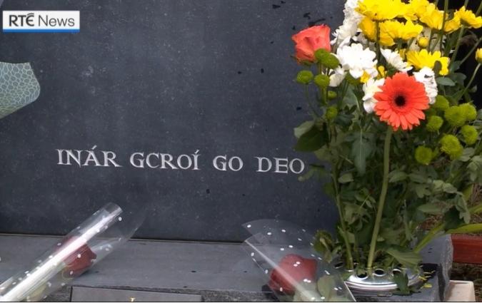 El gaèlic sense traduir s'imposa el cementiri de Coventry