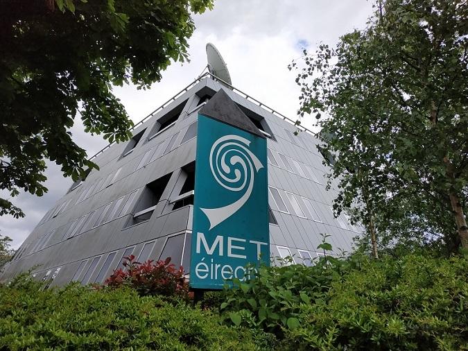 La seu futurista de Met Éireann fa quaranta anys